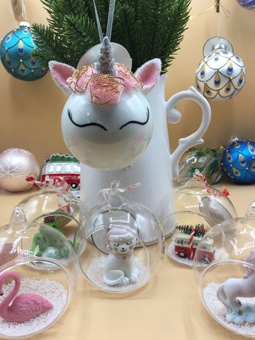Large Unicorn Head Bauble