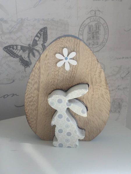 Rustic Wooden Easter Egg Decorations