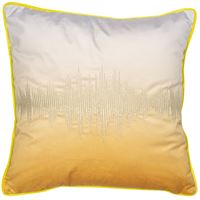 Shadow Mustard Cushion