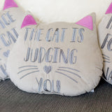 Cat Head Cushion - 3 designs available
