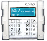 JVA 4-line LCD touch keypad - JVA Technologies - Electric Fencing - Agricultural Fencing - Equine Fencing - Security Fencing