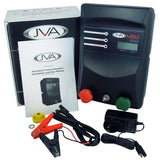 JVA MB12 Electric Fence Energizer + 150W Solar Kit - JVA Technologies - Electric Fencing - Agricultural Fencing - Equine Fencing - Security Fencing
