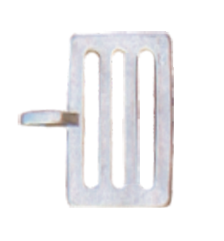 Tape Buckle 40mm - Pack of 10 - JVA Technologies - Electric Fencing - Agricultural Fencing - Equine Fencing - Security Fencing