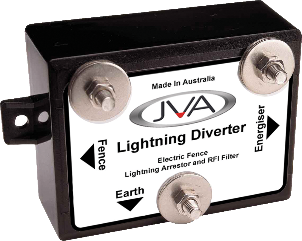JVA Lightning Diverter (multi-stage) - Electric Fence Energizer Protection - JVA Technologies - Electric Fencing - Agricultural Fencing - Equine Fencing - Security Fencing