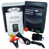 JVA MB12 Electric Fence Energizer + 100W Solar Kit - JVA Technologies - Electric Fencing - Agricultural Fencing - Equine Fencing - Security Fencing