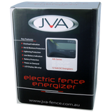 JVA MB8 Mains/Battery Electric Fence IP Energizer® 8J 80km - JVA Technologies - Electric Fencing - Agricultural Fencing - Equine Fencing - Security Fencing