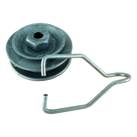 Plastic Combi-Bobbin Electric Fence Insulators PLUS Corner Hooks (25 each) - JVA Technologies - Electric Fencing - Agricultural Fencing - Equine Fencing - Security Fencing