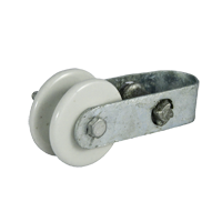 Porcelain Insulator with Combo Tensioner - JVA Technologies - Electric Fencing - Agricultural Fencing - Equine Fencing - Security Fencing