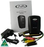 JVA PET100 Portable Electric Fence Energizer - 0.11J 1 km - JVA Technologies - Electric Fencing - Agricultural Fencing - Equine Fencing - Security Fencing