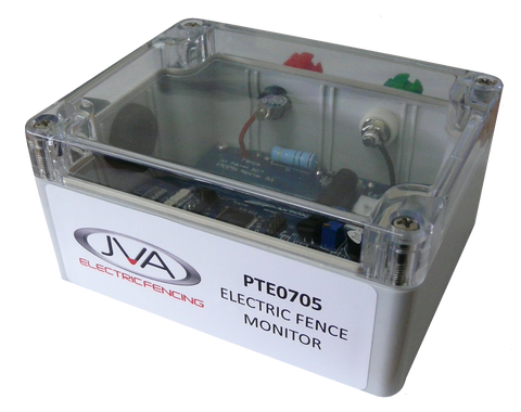 PTE0705 Electric Fence Monitor - JVA Technologies - Electric Fencing - Agricultural Fencing - Equine Fencing - Security Fencing