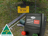 RSG1 Fence Kit: Portable Electric Fence Energizer (0.11J 1 km) PLUS hardware - JVA Technologies - Electric Fencing - Agricultural Fencing - Equine Fencing - Security Fencing