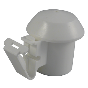 Electric Fence Post Safety Top/Cap Insulator White - JVA Technologies - Electric Fencing - Agricultural Fencing - Equine Fencing - Security Fencing