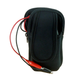 Soft Carry Pouch and Short-Out Leads (x2) for JVA Fault Finder - JVA Technologies - Electric Fencing - Agricultural Fencing - Equine Fencing - Security Fencing