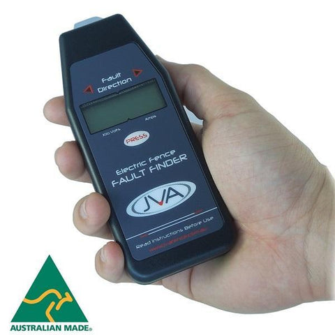 JVA Electric Fence Fault Finder® - JVA Technologies - Electric Fencing - Agricultural Fencing - Equine Fencing - Security Fencing