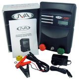 JVA MB16 Mains/Battery Electric Fence IP Energizer® WiFi Aldi Kit - JVA Technologies - Electric Fencing - Agricultural Fencing - Equine Fencing - Security Fencing