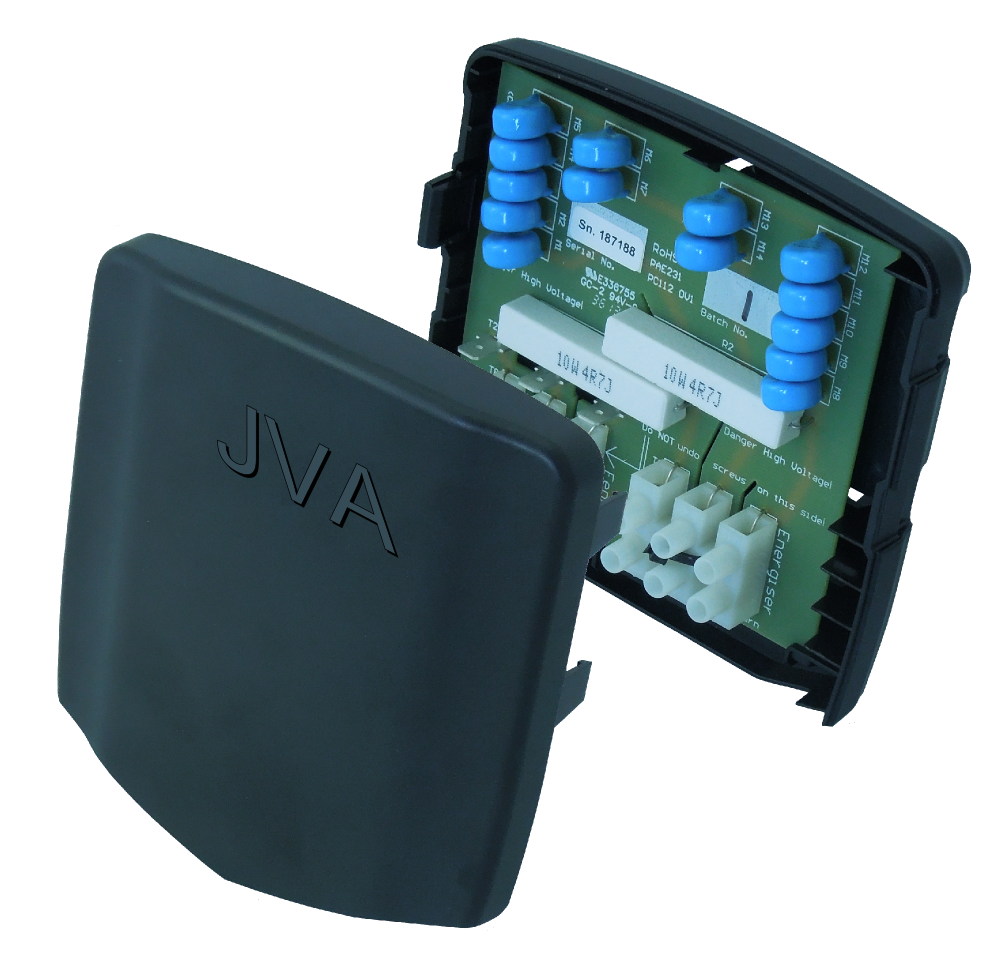 Dual Channel Lightning diverter - JVA Technologies - Electric Fencing - Agricultural Fencing - Equine Fencing - Security Fencing