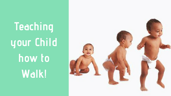 TEACHING YOUR CHILD TO WALK - THE CUDDLECIRCLE WAY