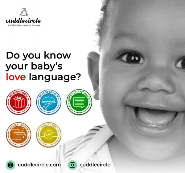 DO YOU KNOW YOUR BABY'S LOVE LANGUAGE?