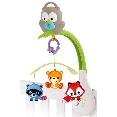 Fisher Price Woodland Friends 3 in 1 Musical Mobile