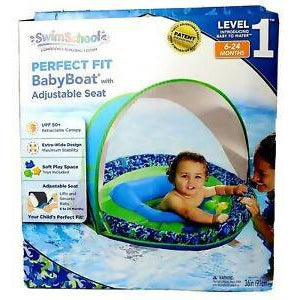 Swim School perfect fit BabyBoat with adjustable seat