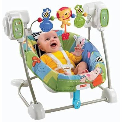 FISHER PRICE SPACESAVER SWING & SEAT