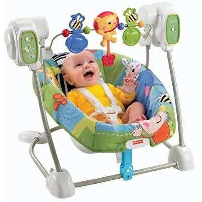 Fisher-Price SpaceSaver Swing & Seat, Discover'N Grow