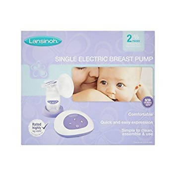 Lanshinoh Single Electric Breast Pump Without Bottle