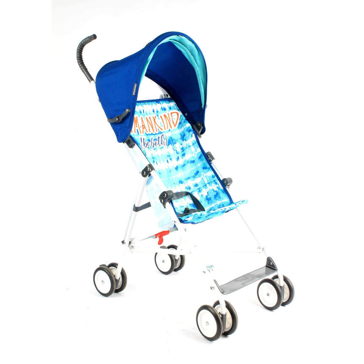 Umbrella Stroller with Canopy - Blue