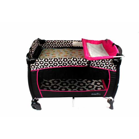 Evenflo Playard With Mattress & Changing Bed