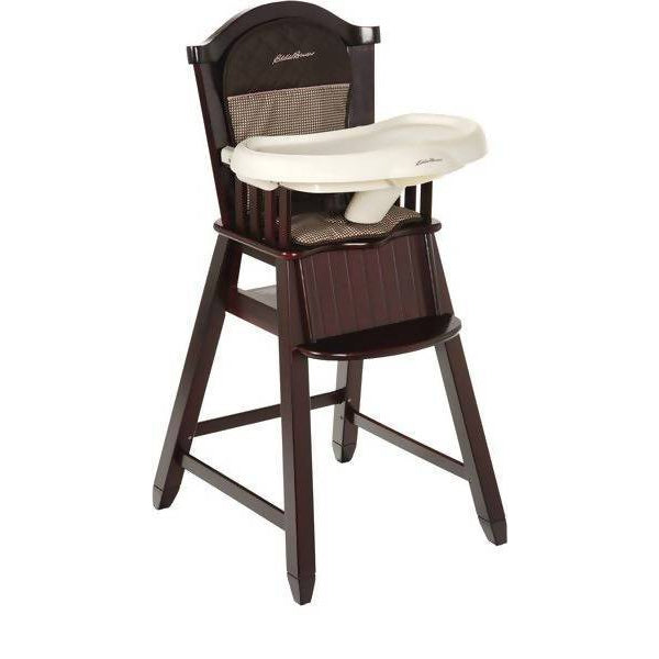 Eddie Bauer Wood High Chair