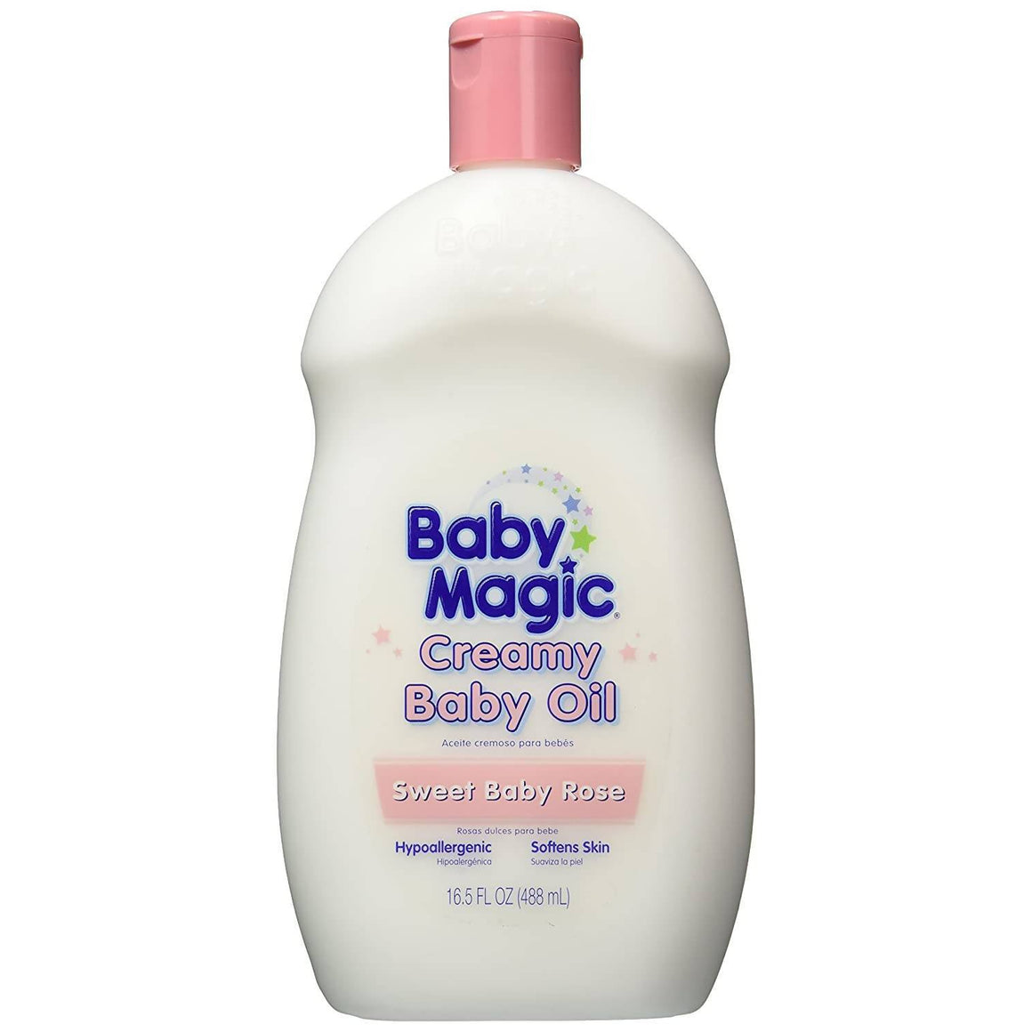 Baby Magic Creamy Baby Oil Sweet Baby Rose
