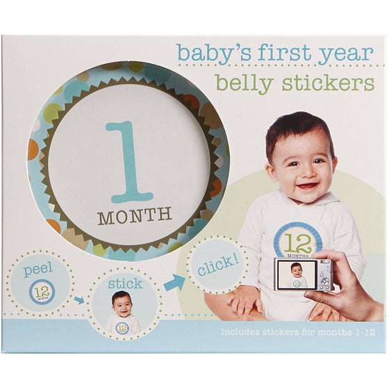 BABY FIRST YEAR BELLY STICKERS