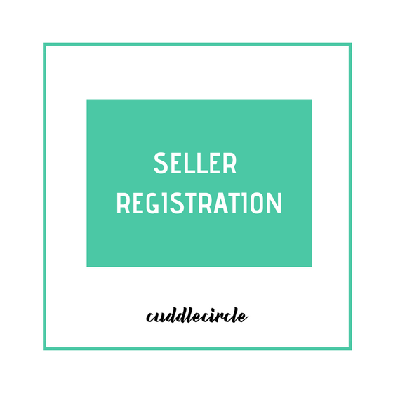 Seller Registration - Cuddlecircle
