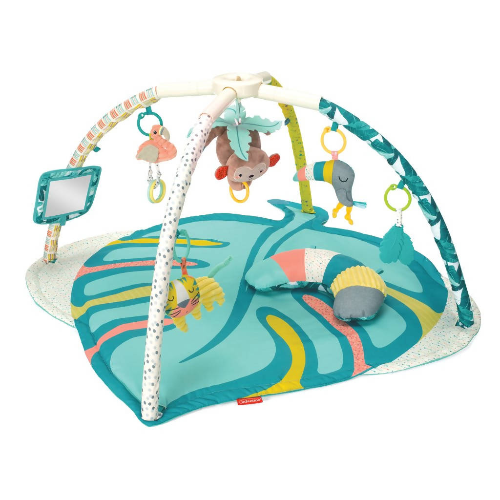 Infantino Deluxe Twist & Fold Activity Gym & Play Mat