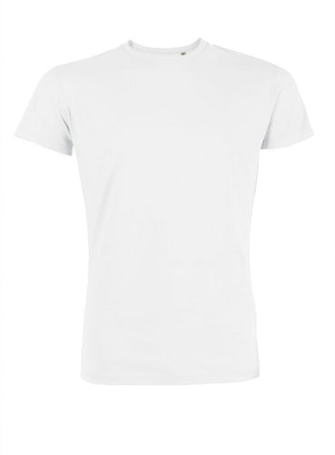 MECILLA [**26528] UNISEX / MEN'S ORGANIC ROUND NECK T-SHIRT - MEDIUM FIT / 中性/男装有機棉圓領T恤