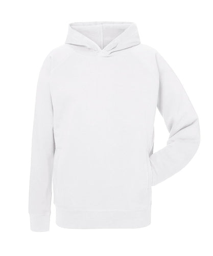 MECILLA [*26807] UNISEX ORGANIC RAGLAN SLEEVE WELT POCKET HOODIE - MEDIUM FIT