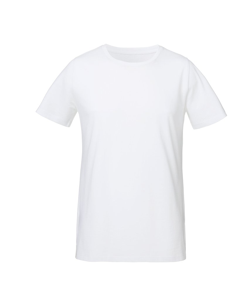 MECILLA [**26810] UNISEX ROUNDNECK TEE-SHIRT WITH SIDE SLIT - MEDIUM FIT
