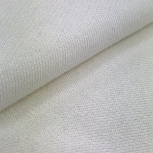 Organic Cotton Bulky Soft French Terry (Ivory)