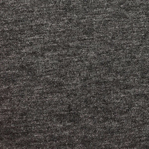 Viscose Wool Spandex Jersey (Black)