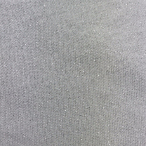 Cotton Linen Silver Printed Jersey (Silver)