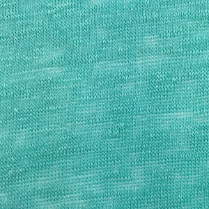 Linen Single Jersey (Turquiose)