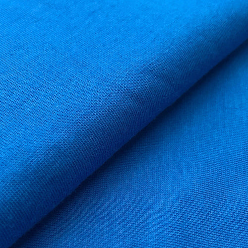 Organic Cotton Single Jersey (Blue)