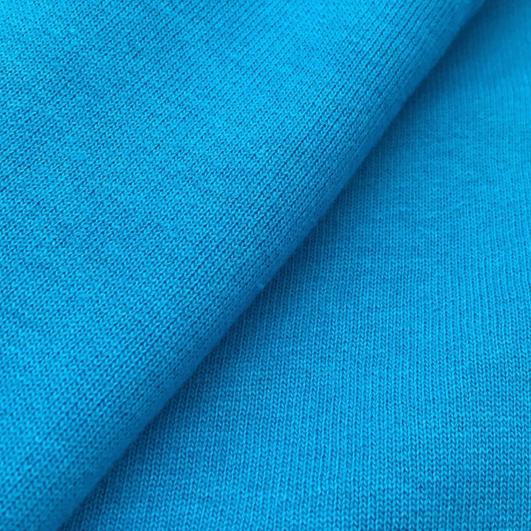 Organic Brushed Fleece (Blue)