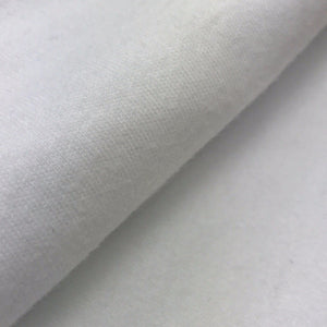 Organic Cotton Interlock  (White)
