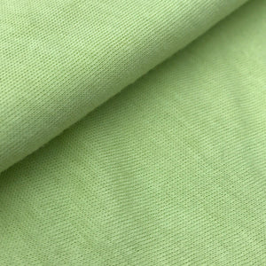 Organic Cotton Soft Jersey (White, Green, Cream, Haze Grey, Blue, Camel)
