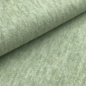 Cotton Poly Twill French Terry (Haze Grey, Light green, H.Blue, White, Beige)