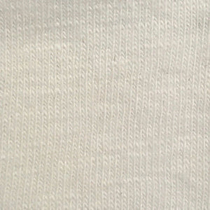 Organic Cotton Spandex Slub Cotton Single Jersey (Offwhite)