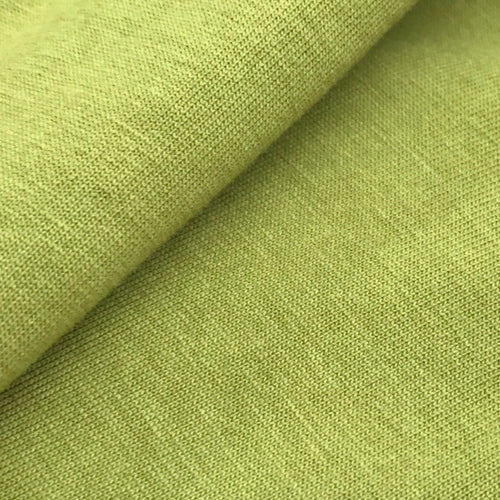 Organic Cotton Single Jersey (Light Green)