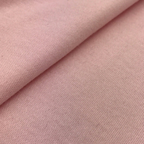Organic Cotton Interlock  (Pink)