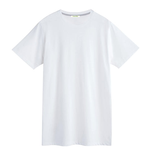 MECILLA [*V005] ORGANIC COTTON ROUNDNECK SHORT SLEEVE T-SHIRT